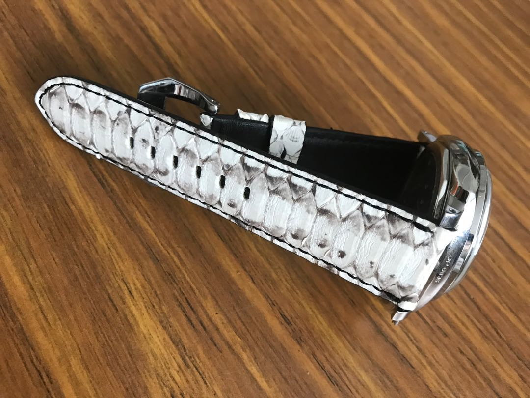 Watch straps in authentic exotic leather (crocodile alligator ostrich leather etc)