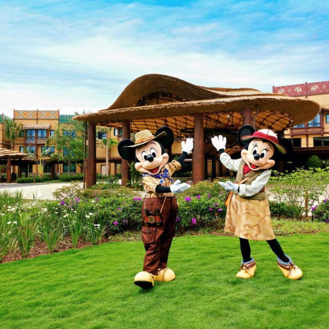 Disney Explorers Lodge Hong Kong hotel booking SALE
