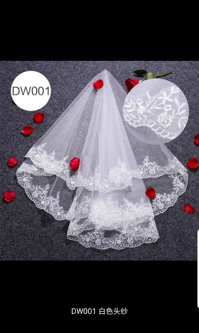 I didn't use this items as I took up bridal package.. PM or visit my page for more info