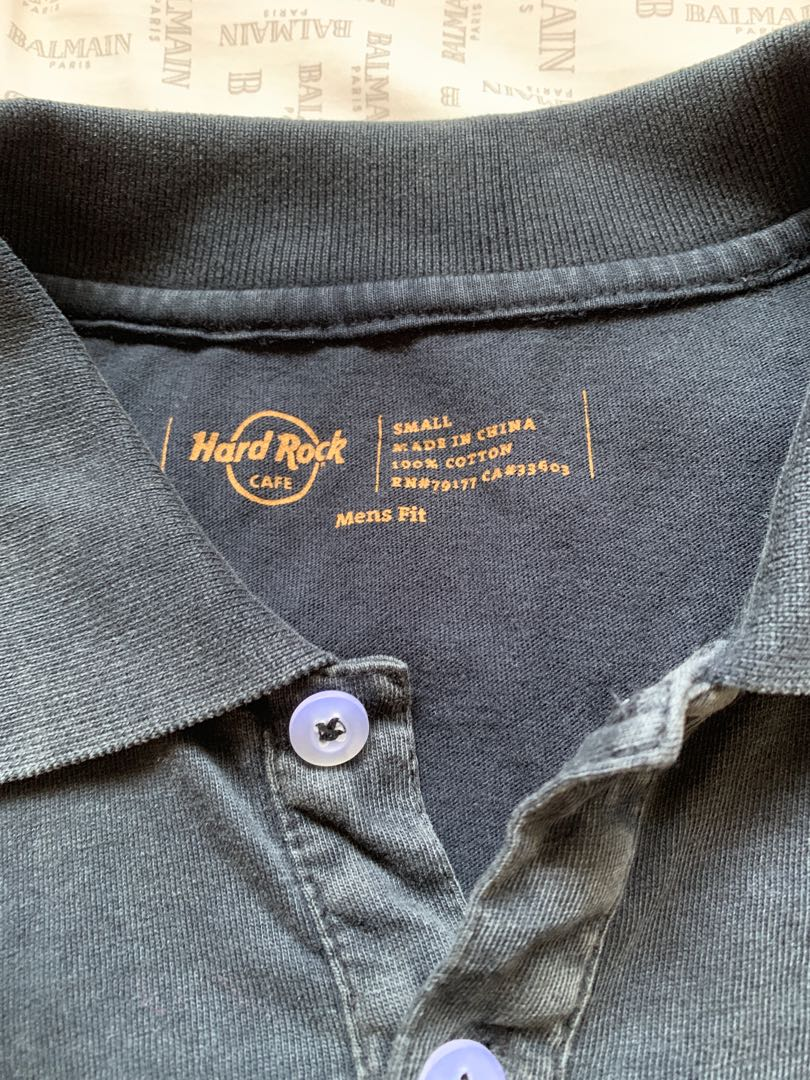 hardrock cafe polo tee @$32 from prague