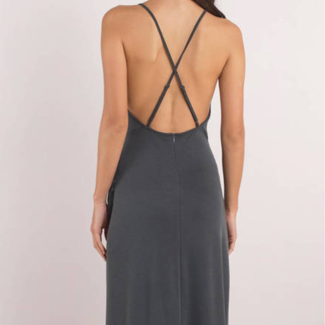 Selling brand new navy maxi dress for HALF PRICE