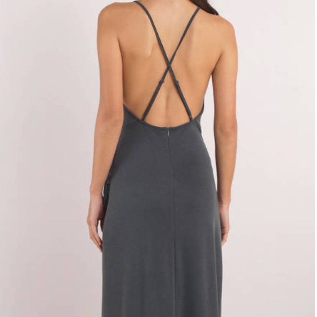 Selling a brand new navy maxi dress for HALF PRICE!