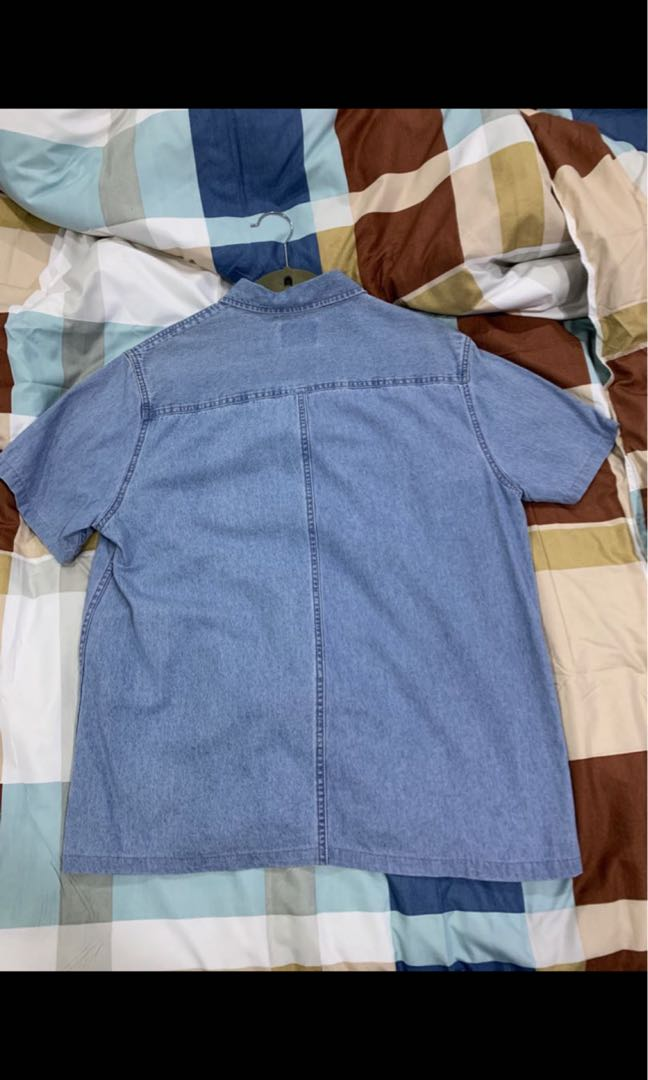 denim topman shirt