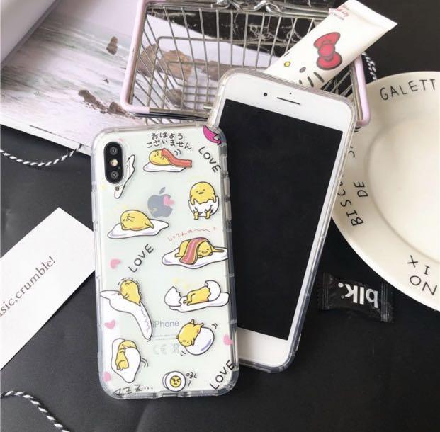 CUTE GUDETAMA PHONE CASES UNDER $15 🥳