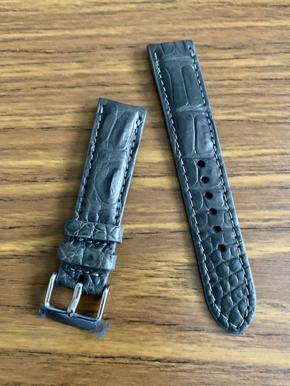 Watch straps in authentic exotic leather to match your outfits!!