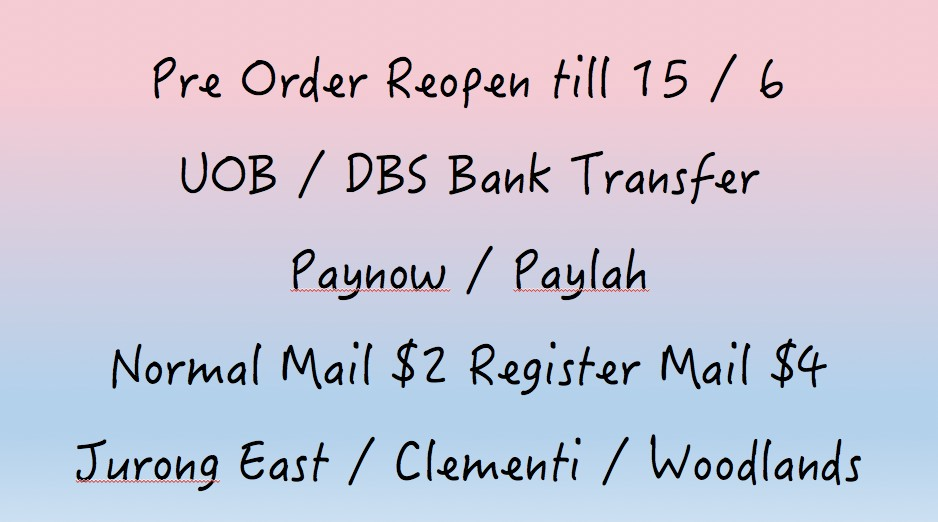 ❤️Thailand Pre Order Reopen❤️