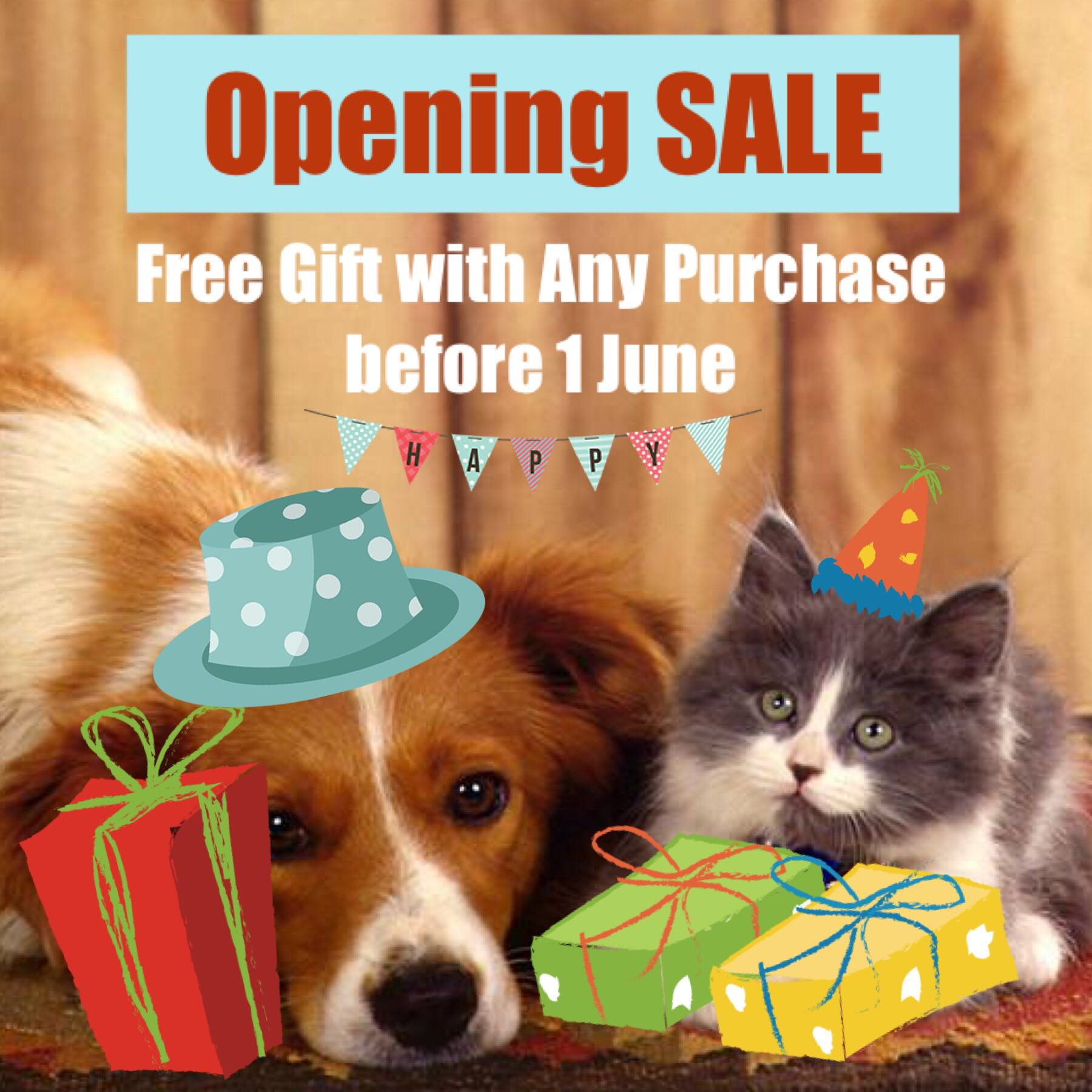 Shop Opening SALE