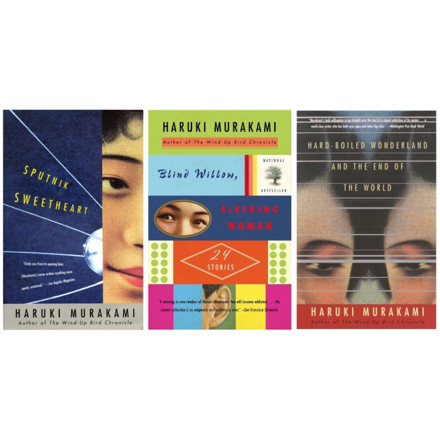 Suggested reading sequence for Haruki Murakami's books