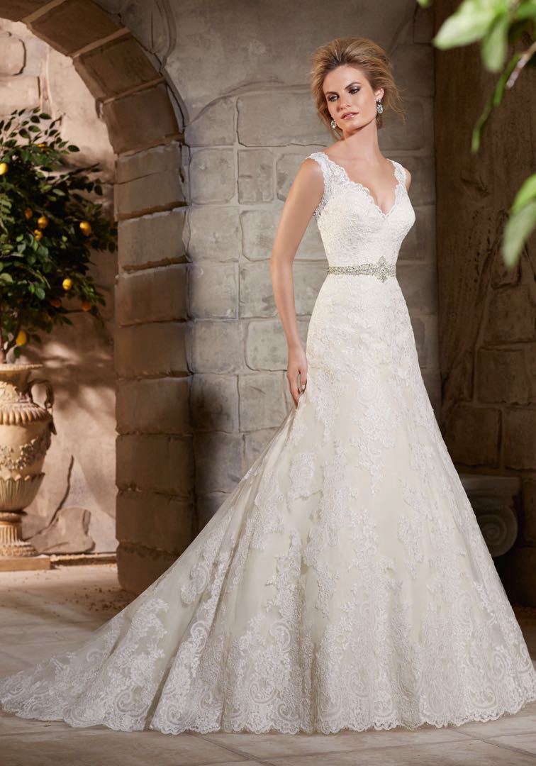 all proceeds to donation - wedding gown