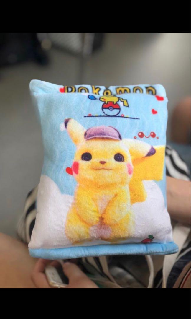 Selling Detective Pikachu Plush Pillow (2 Designs)