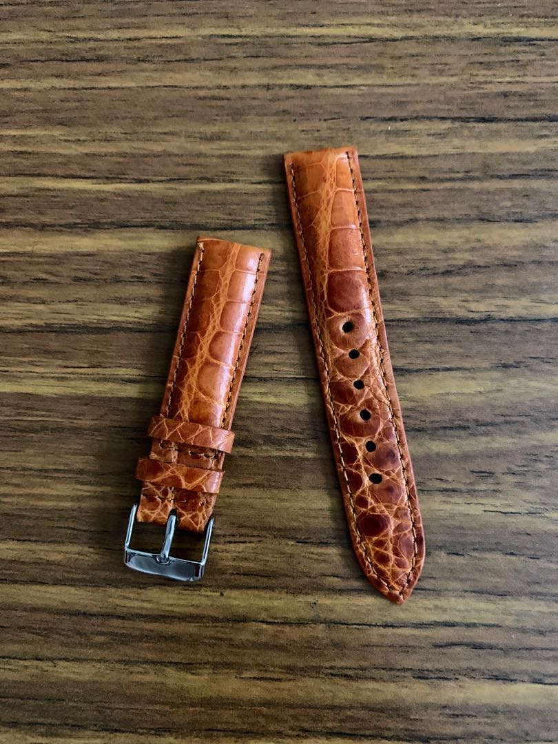 Authentic exotic leather (crocodile ostrich Python) for Seiko / Grand Seiko Watch