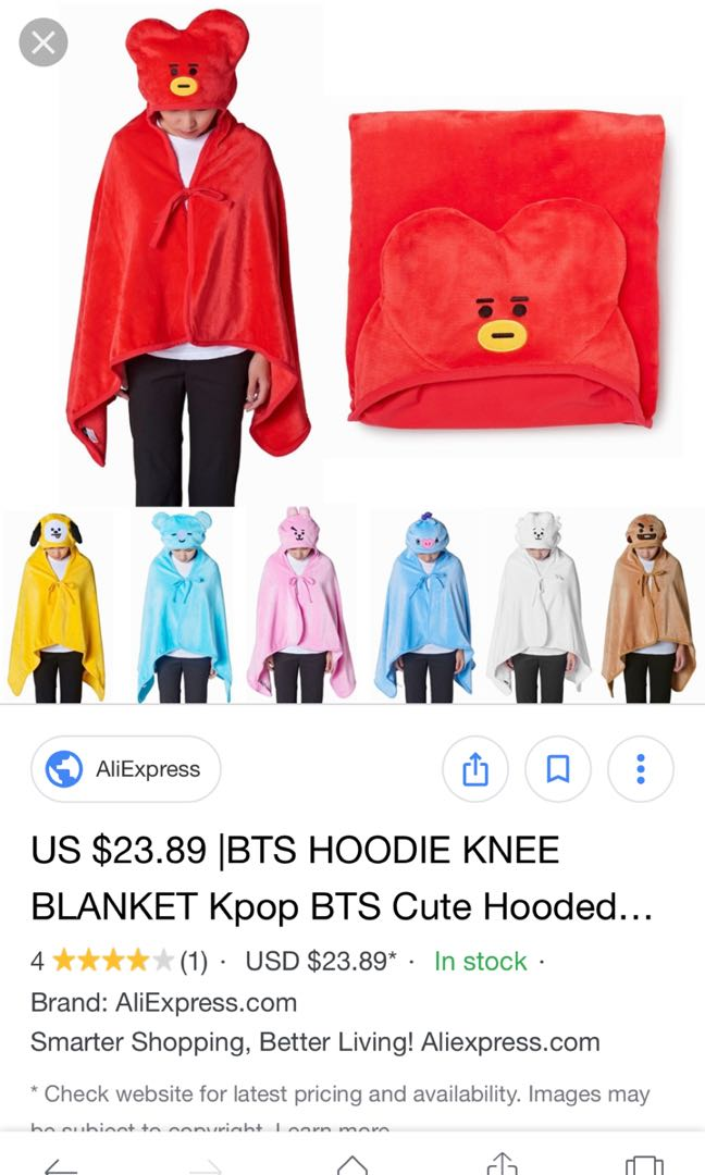 new items at bt21 ppp up store
