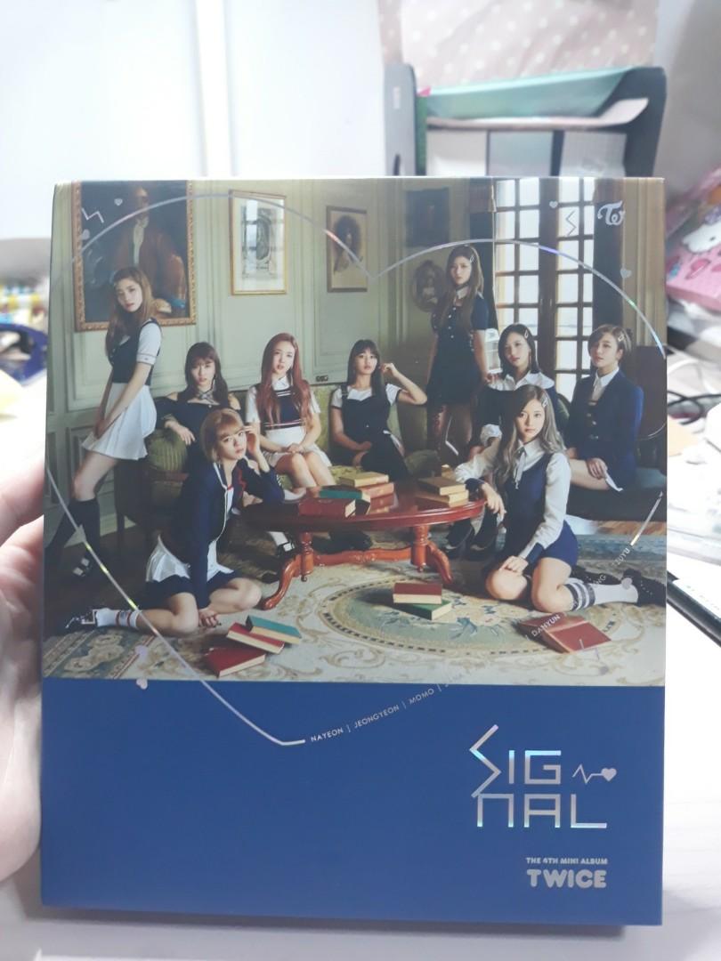 selling RARE twice signal blue thai album