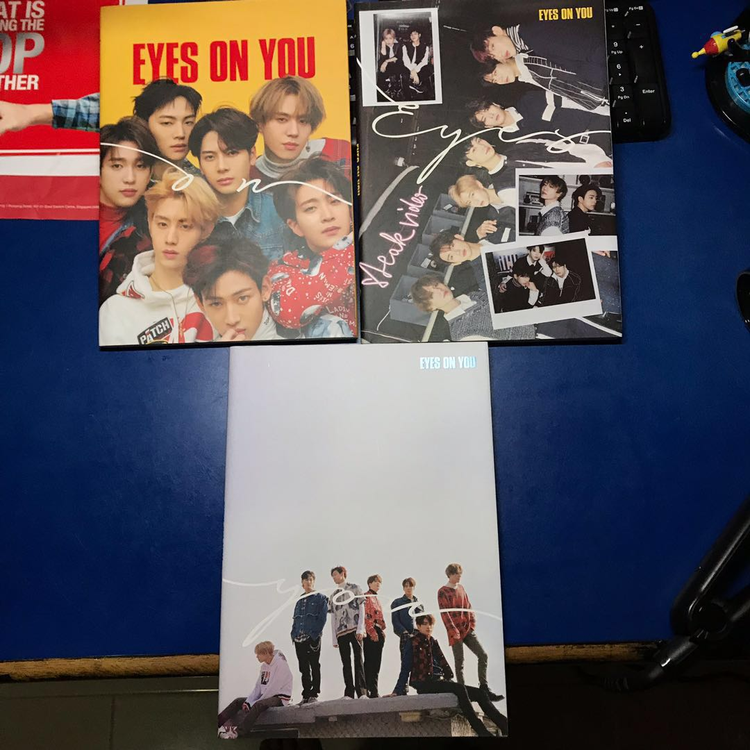 wts got7 eyes on you