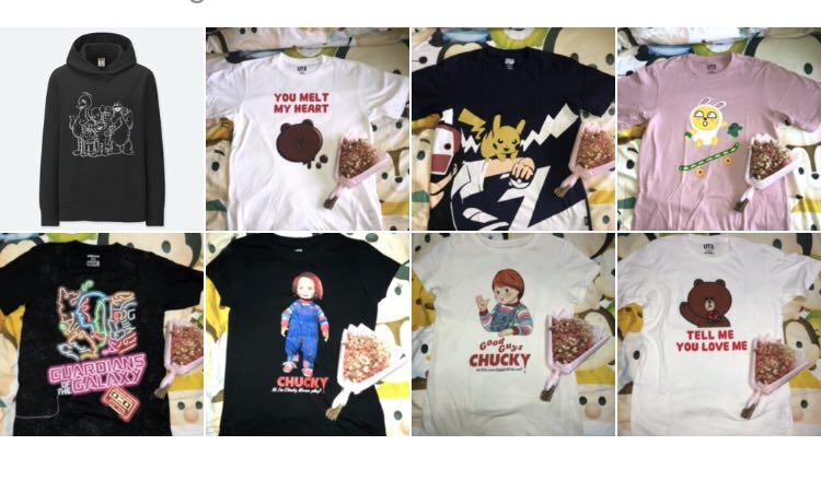 uniqlo tops for sale !