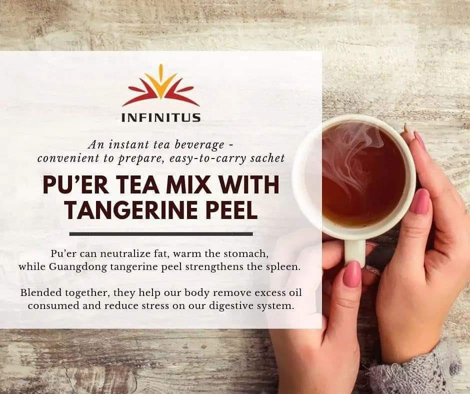 Infinitus September Special (Pu'er Tea Mix)
