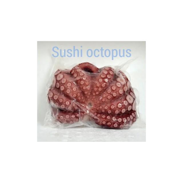 Whole sushi octopus