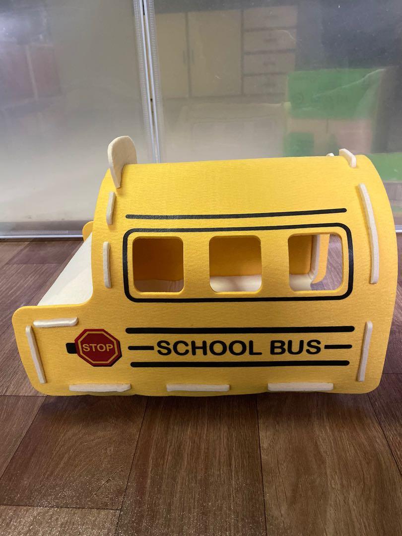Alice school bus hideout for rabbits