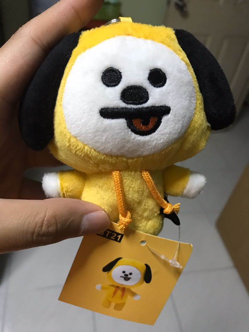 [WTS] Unofficial BT21 Mang Plushie and Bag charms
