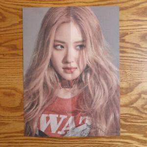 Blackpink Kill This Love Rosé Poster [Black Version]
