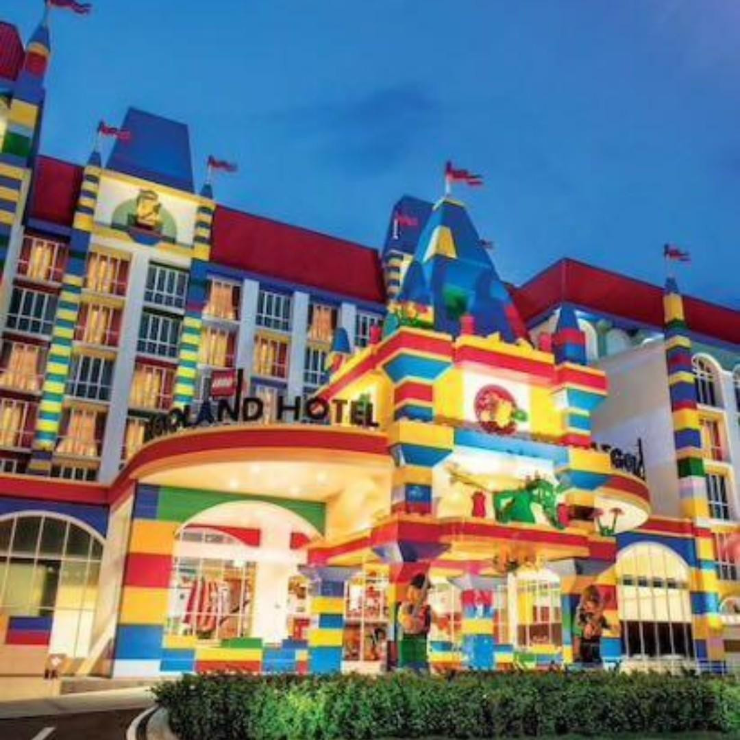 Legoland Hotel Malaysia themed room with breakfast from SGD 229 nett
