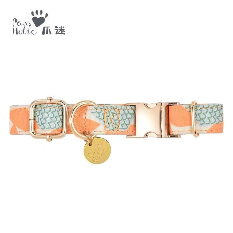 Classy pretty prints dog collars and leashes